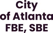 sertificats-City of Atlanta FBE,SBE